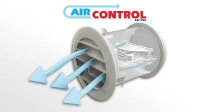 Grille de ventilation thermostatique AIRCONTROL
