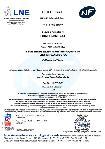 Certification AFNOR-LNE NF 513 - Me - Réaction au feu