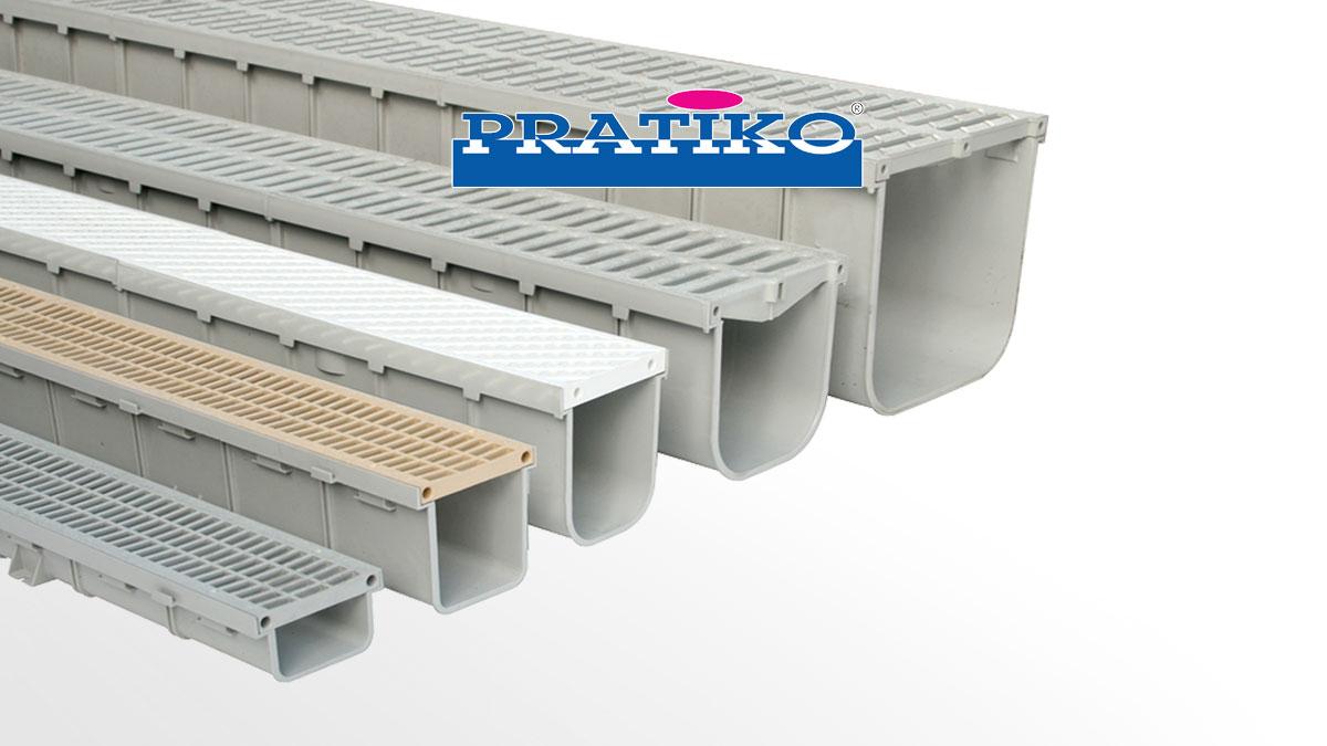 Caniveaux à grilles en PVC