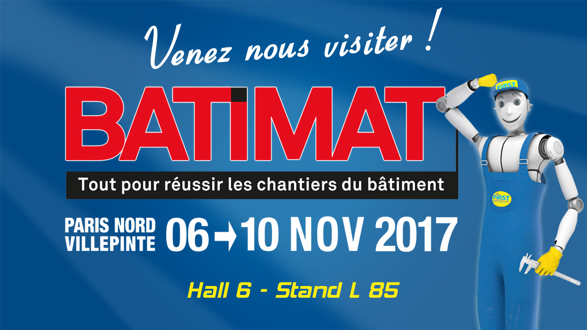 Salon international BATIMAT 2017