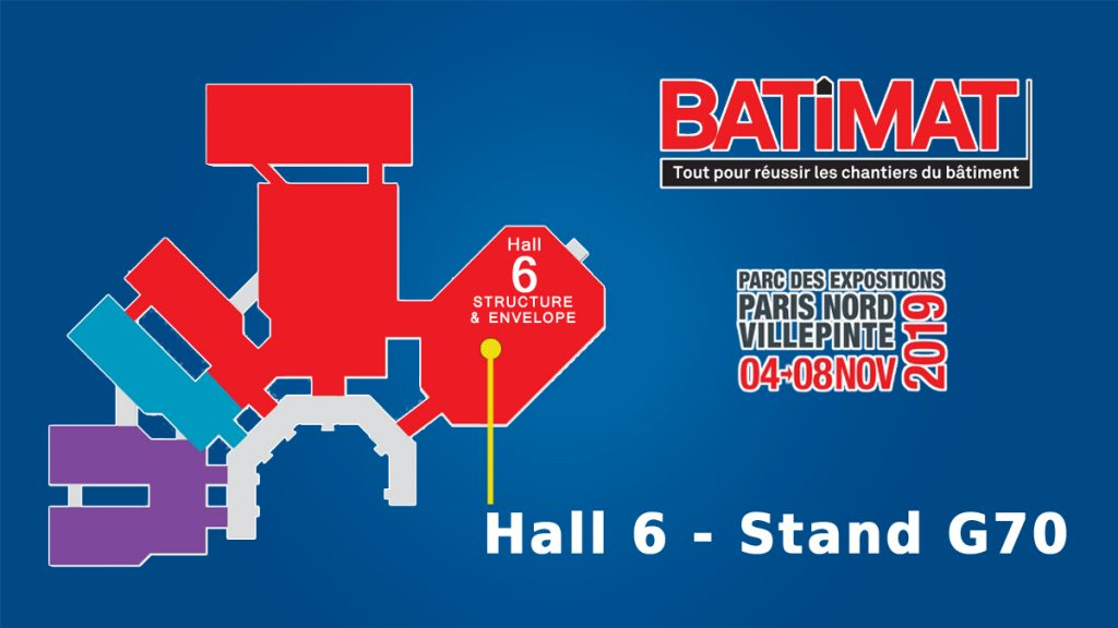 Salon international BATIMAT 2019