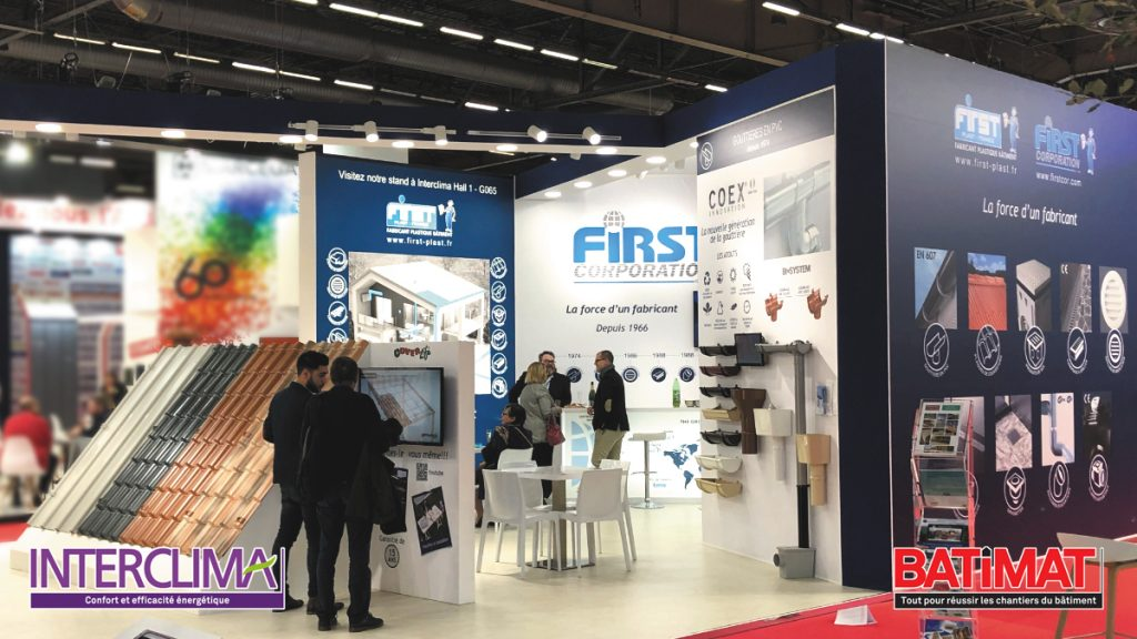 Salons Batimat et Interclima
